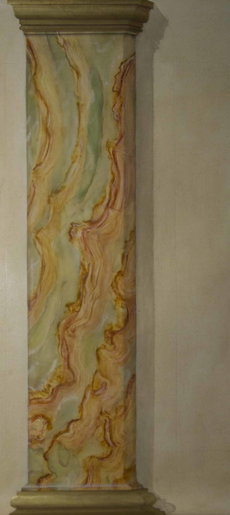 Imitation marbre - Onyx jaune