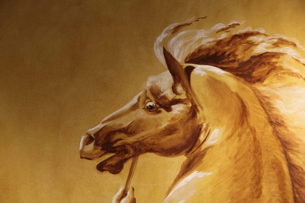 cheval emporté bouche