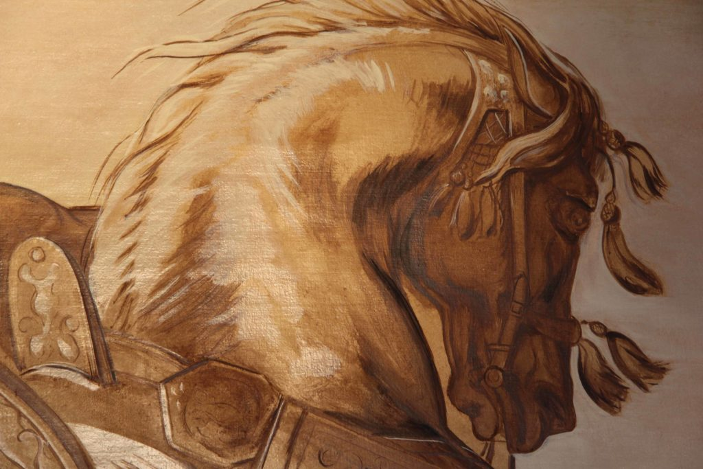 cheval persan tête cheval